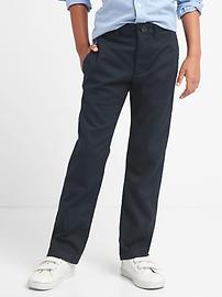 Pantalon d'uniforme extensible conçu pour l'action, coupe droite