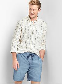 Dash print lightweight shirt