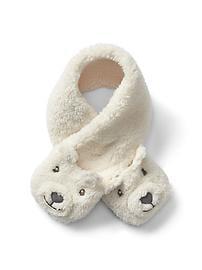 Écharpe confortable à motif d'ours