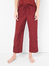 DreamWell satin crop sleep pants