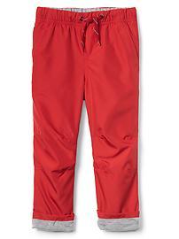 Pantalon à enfiler doublé de jersey
