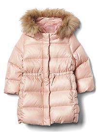 Down puffer parka coat