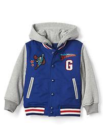 babyGap &#124 DC&#153 Superman varsity hoodie