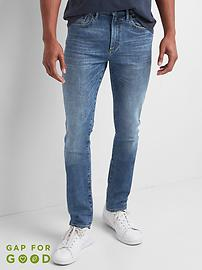 Jeans in Skinny Fit with GapFlex