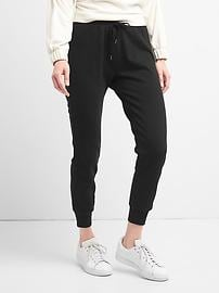 French terry fleece joggers