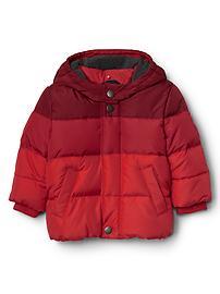 EcoPuffer fleece-lined hoodie