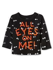 Halloween spooky eyes tee