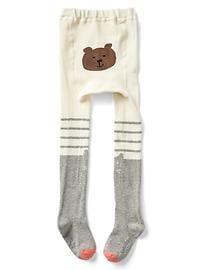Collant en tricot à motif de chatons