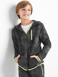 GapFit kids zip hoodie