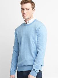Merino wool crewneck