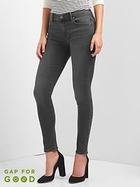 Low Rise True Skinny Jeans