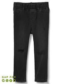 Superdenim Favorite Skinny Jeans in Destruction with Fantastiflex