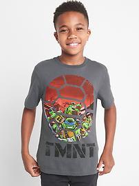 T-shirt à manches courtes à motif de tortue