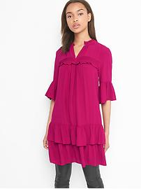 Ruffle tier dress