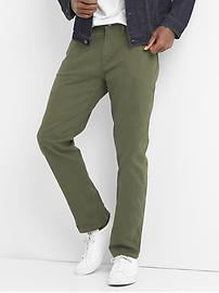 Twill Pants in Skinny Fit with GapFlex
