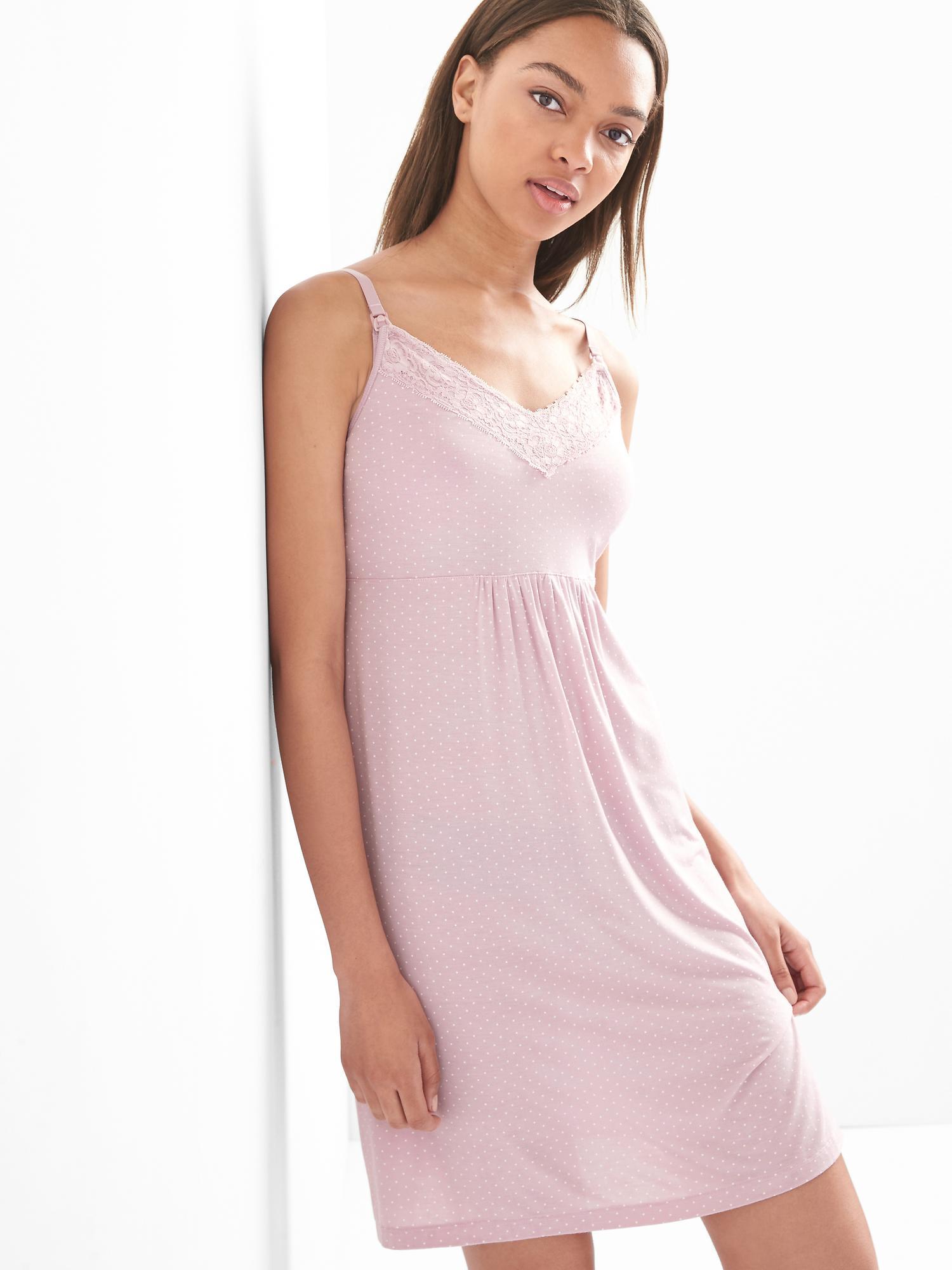Maternity nursing nightgown | Gap