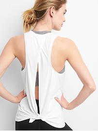 Camisole GapFit respirant à bretelles nouées au dos