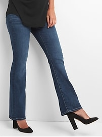 Maternity demi panel perfect boot jeans
