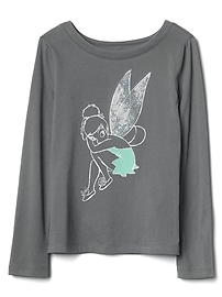 GapKids &#124 Disney sequin long sleeve tee