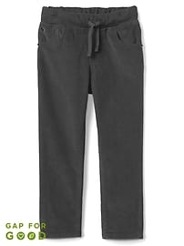 Pull-On Slim Fit Cords