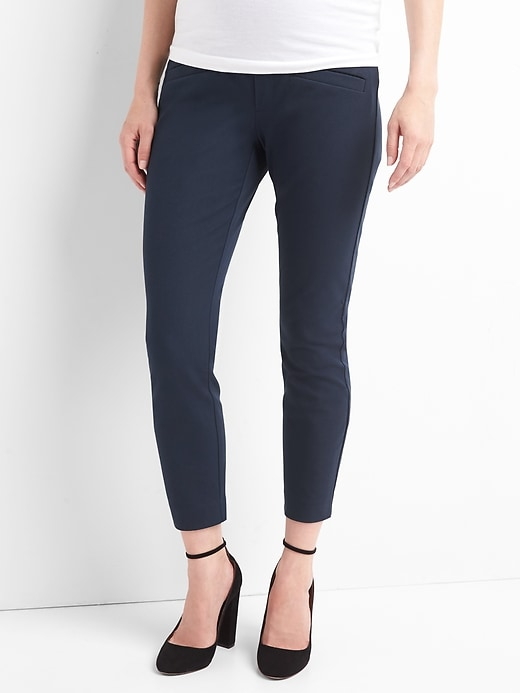 Maternity Full Panel Skinny Pants With Bi Stretch by Gap