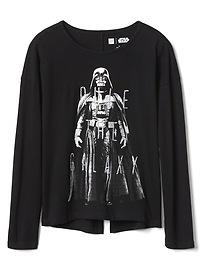 T-shirt Gap à dos ouvert, à paillettes et à motif Star Wars