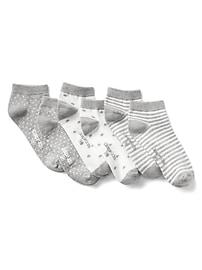 Print ankle socks (3-pack)