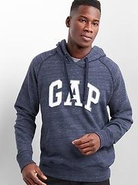 Logo pullover hoodie