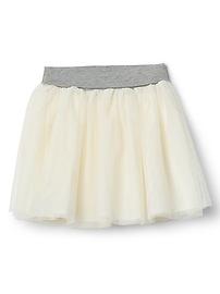 Tulle flippy skirt