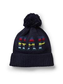 Logo pom hat