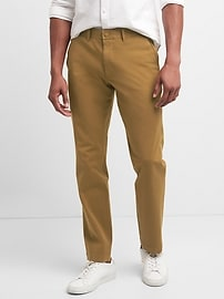 Ultimate Khakis in Slim Fit with GapFlex