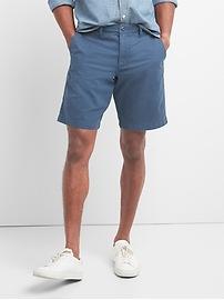 "Vintage wash casual shorts (10"")"