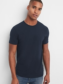 T-shirt ras du cou extensible