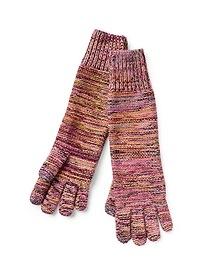 Merino blend gloves