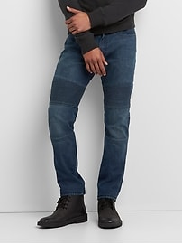 Indestructible Moto Jeans in Slim Fit with GapFlex