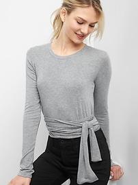 Tie-waist top