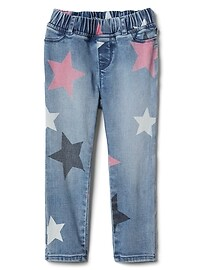 Favorite Jeggings in Star Print with High Stretch