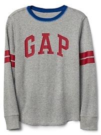 T-shirt de hockey en tricot gaufré à logo