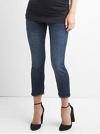 Maternity full panel best girlfriend jeans