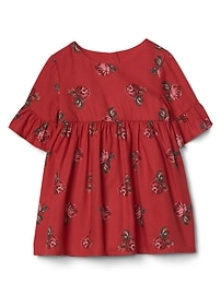 Rose floral bell dress