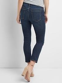 4aae12fe Maternity Inset Panel Best Girlfriend Jeans | Gap