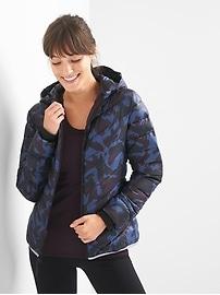 ColdControl aerofast puffer hoodie