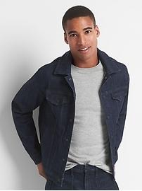 Performance denim jacket