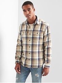 Flannel Overshirt