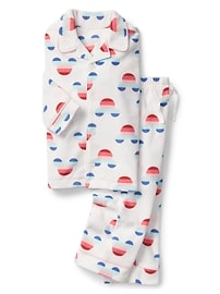 babyGap &#124 Disney Baby Mickey Mouse fleece classic PJ set