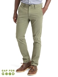 Color Khakis in Skinny Fit with GapFlex