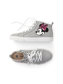 GapKids &#124 Disney Minnie Mouse hi-top sneakers