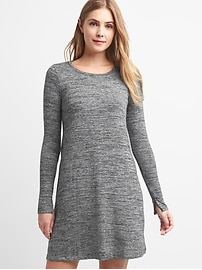 Softspun stripe t-shirt dress