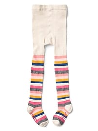 Crazy stripes sweater tights