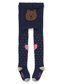 Dotty sweater tights